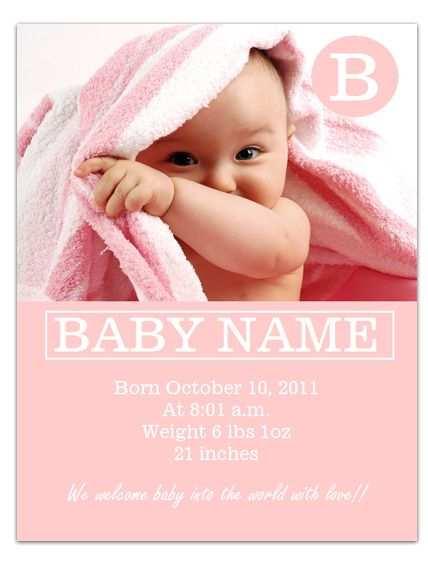 77 Creative Baby Card Template Microsoft Word PSD File by Baby Card Template Microsoft Word