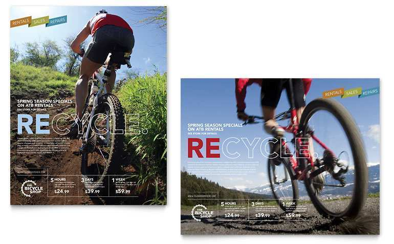 77 Creative Bike Flyer Template in Word by Bike Flyer Template
