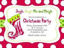77 Creative Office Christmas Party Flyer Templates For Free for Office Christmas Party Flyer Templates
