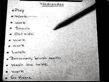 77 Creative Visual Schedule Template Word Maker for Visual Schedule Template Word