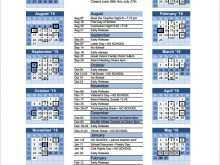 77 Creative Yearly Class Schedule Template in Word by Yearly Class Schedule Template
