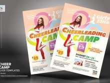 77 Customize Cheer Camp Flyer Template with Cheer Camp Flyer Template