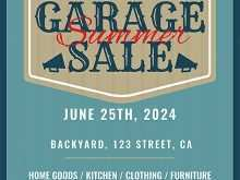 77 Customize Garage Sale Flyer Template With Stunning Design by Garage Sale Flyer Template