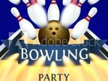 77 Customize Our Free Bowling Event Flyer Template Photo with Bowling Event Flyer Template