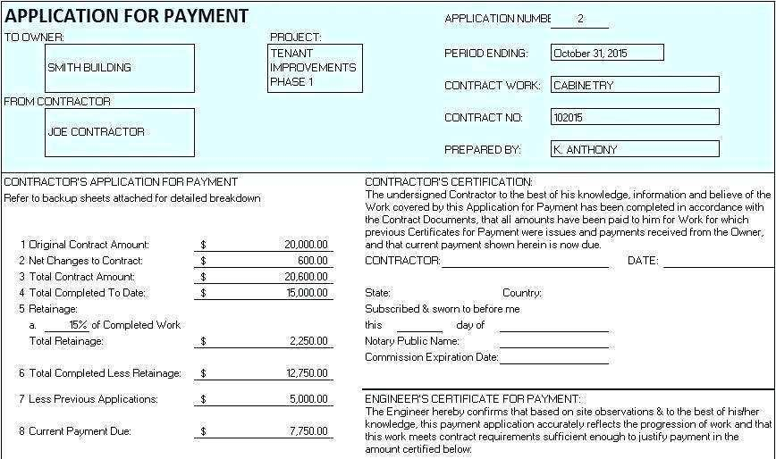 77 Format Construction Progress Invoice Template Now For Construction Progress Invoice Template Cards Design Templates