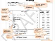 77 Free Construction Invoice Template With Gst for Ms Word for Construction Invoice Template With Gst