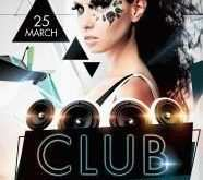 Free Club Flyer Templates Photoshop