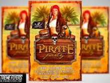 Pirate Flyer Template Free