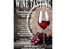 Wine Tasting Event Flyer Template Free