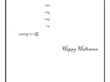 77 How To Create Halloween Postcard Template Free Formating with Halloween Postcard Template Free
