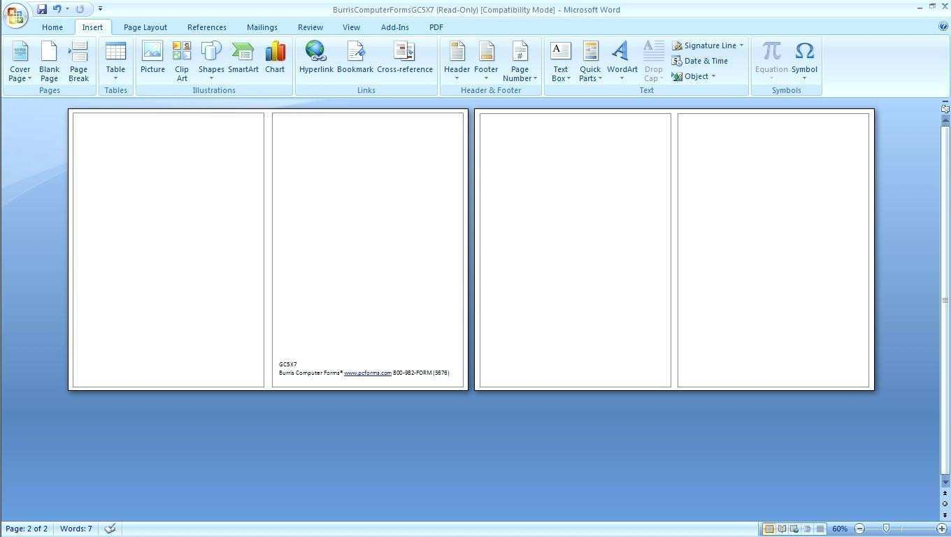 77 Online Card Template In Word 2010 Maker for Card Template In Word 2010