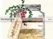 77 Online Christmas Recipe Card Template Pdf PSD File by Christmas Recipe Card Template Pdf