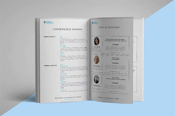 77 Printable Conference Agenda Template Indesign For Free by Conference Agenda Template Indesign