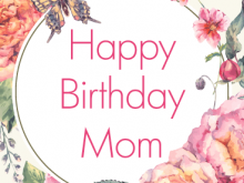 77 Report Birthday Card Template For Mummy in Photoshop with Birthday Card Template For Mummy