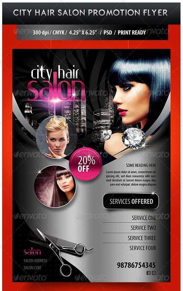 77 The Best Beauty Salon Flyer Templates Free Templates with Beauty Salon Flyer Templates Free