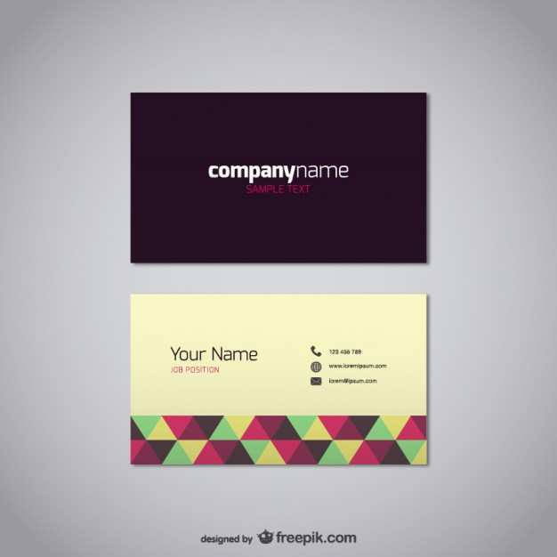 77 The Best Business Card Template Freepik for Ms Word for Business Card Template Freepik