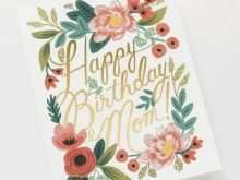 78 Adding Birthday Card Template For Mummy Now by Birthday Card Template For Mummy