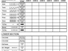 78 Adding Yahtzee Card Template Layouts for Yahtzee Card Template