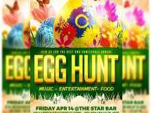 Easter Egg Hunt Flyer Template Free