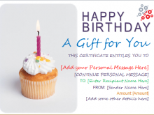 78 Blank Birthday Gift Card Template Word in Photoshop with Birthday Gift Card Template Word