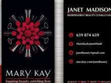 78 Blank Mary Kay Business Card Template Download in Photoshop by Mary Kay Business Card Template Download