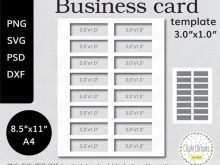 Business Card Template Free Download Png