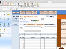 78 Creating Automotive Repair Invoice Template For Free by Automotive Repair Invoice Template