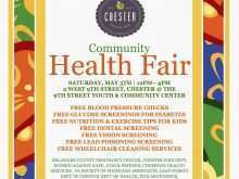 78 Creating Health Fair Flyer Template Download with Health Fair Flyer Template