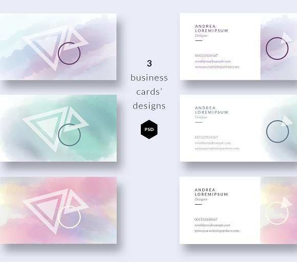 78 Customize Business Card Templates Watercolor Now by Business Card Templates Watercolor