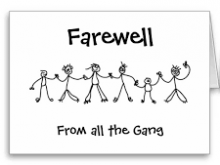 78 Customize Our Free Farewell Card Templates Examples in Word for Farewell Card Templates Examples