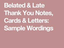 78 Customize Our Free Late Thank You Card Template PSD File by Late Thank You Card Template