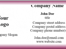 78 Customize Our Free Visiting Card Format In Word Maker by Visiting Card Format In Word