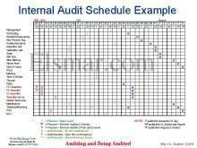 78 Format Audit Plan Schedule Template For Free with Audit Plan Schedule Template