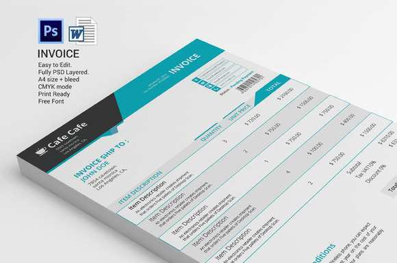78 Format Company Invoice Template Psd for Company Invoice Template Psd