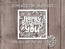 78 Format Silhouette Birthday Card Template Layouts with Silhouette Birthday Card Template