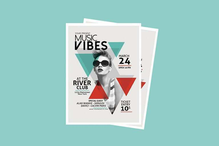 78 Free Band Flyers Templates Layouts for Band Flyers Templates