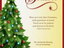 78 Free Free Christmas Card Templates Religious Layouts by Free Christmas Card Templates Religious