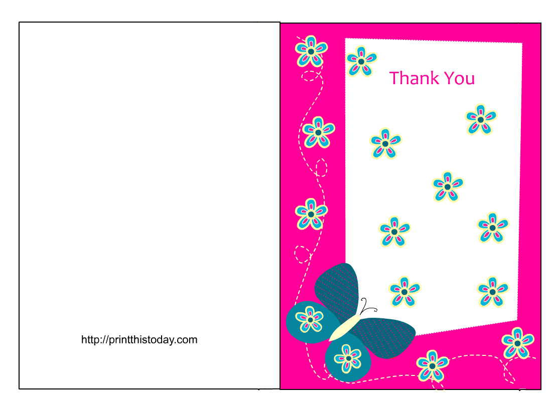 free printable graduation thank you card template  cards
