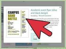 Microsoft Publisher Flyer Templates