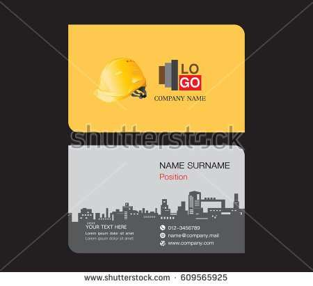 78 Free Printable Business Card Template Engineering PSD File for Business Card Template Engineering
