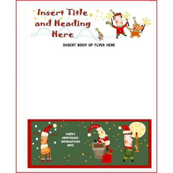78 Free Printable Christmas Flyer Templates Microsoft Publisher Photo by Christmas Flyer Templates Microsoft Publisher