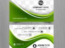 78 How To Create Business Card Template Green for Ms Word by Business Card Template Green