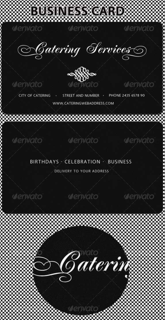 78 How To Create Catering Name Card Template in Word with Catering Name Card Template