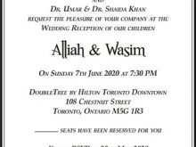 78 How To Create Invitation Card Format Muslim Photo for Invitation Card Format Muslim