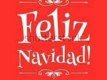 78 Online Christmas Card Template In Spanish by Christmas Card Template In Spanish