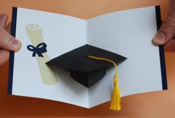 78 Online Graduation Pop Up Card Template Pdf in Word for Graduation Pop Up Card Template Pdf