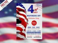 78 Printable Fourth Of July Flyer Template Free Formating for Fourth Of July Flyer Template Free