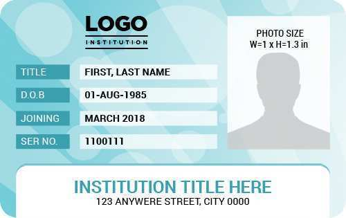 78 Printable Id Card Template For Word in Word by Id Card Template For Word
