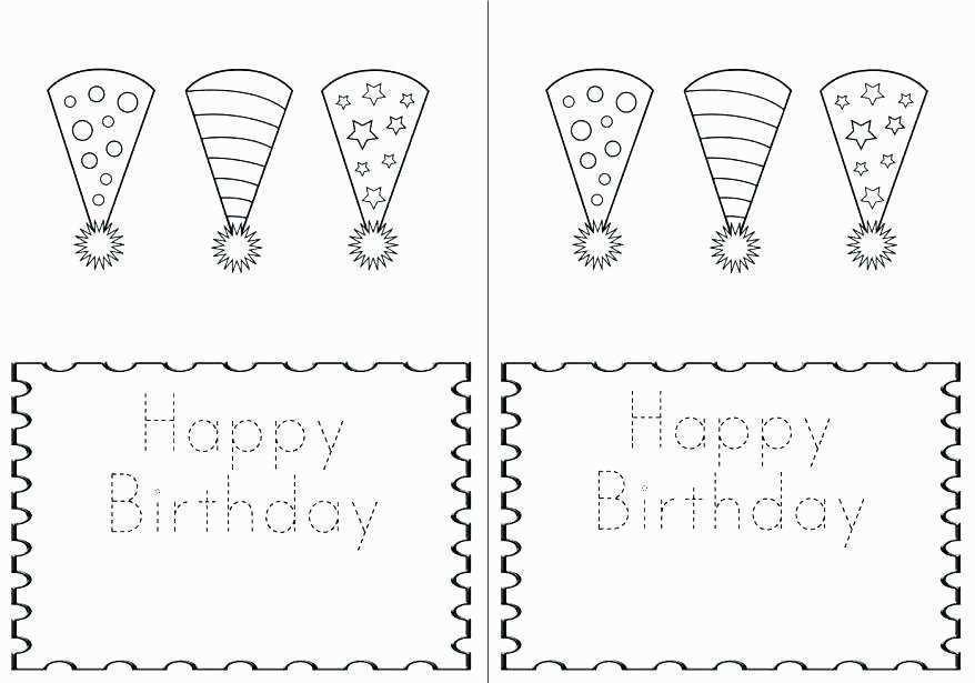 quarter fold birthday card template free cards design. Black Bedroom Furniture Sets. Home Design Ideas