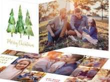 78 Report 2 Fold Christmas Card Template in Photoshop by 2 Fold Christmas Card Template